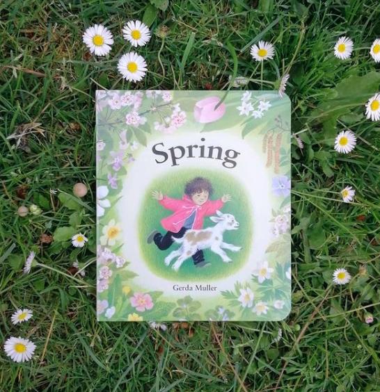 Portada de 'Primavera', de Gerda Müller