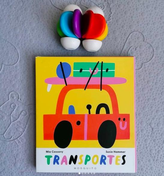 Un libro-juego para aprender los 'Transportes'